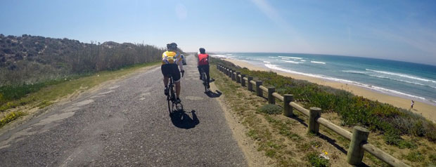 Road cycling alentejo with friends