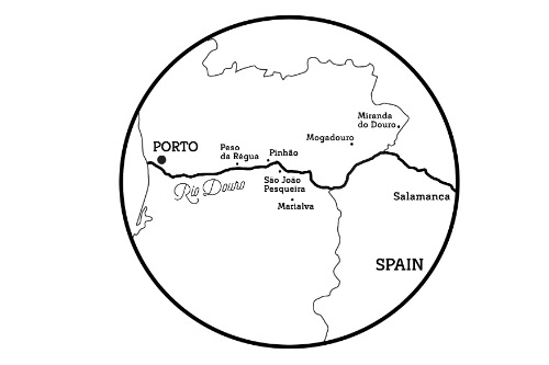 douro region map