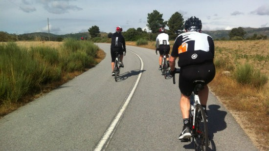 Road Cycling In The Douro
