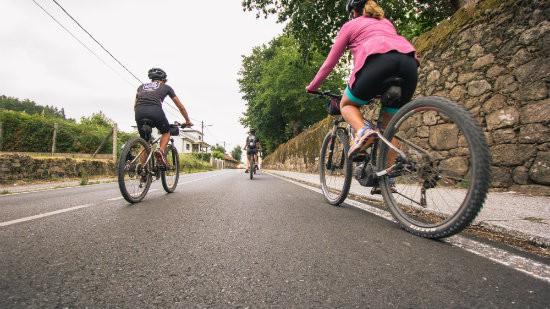 cycling Portuguese way cyclists mountain bike tour