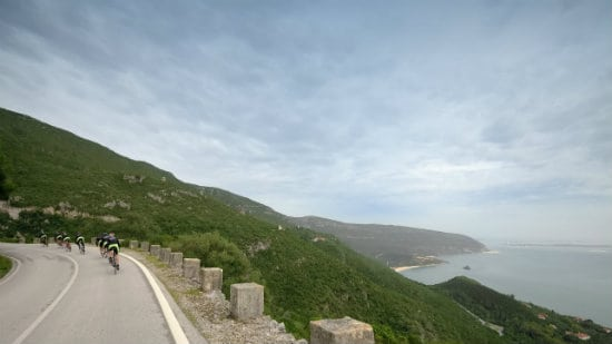 cycling portugal: riding by the Atlantic Ocean