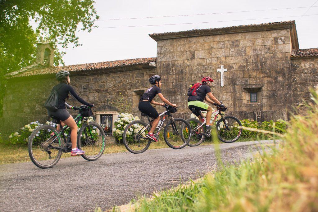 bike tour Portuguese way camino de Santiago