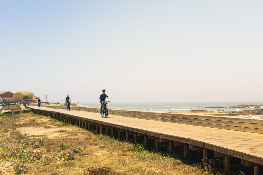 bike tour Portuguese way bike paths along the Atlantic coast
