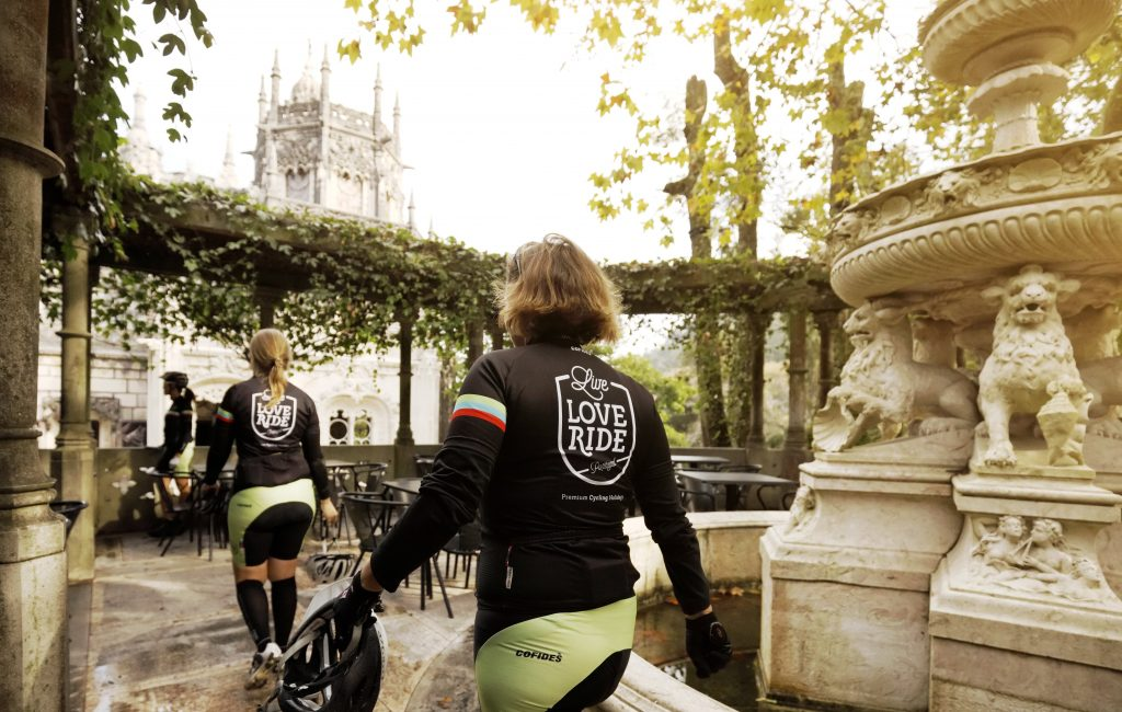 Quinta da regaleira sintra cyclists