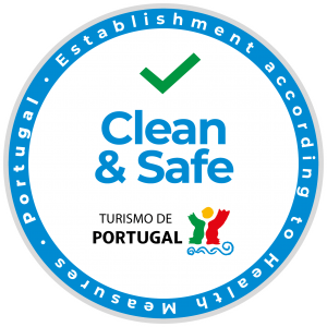 clean and safe establishment turismo de Portugal
