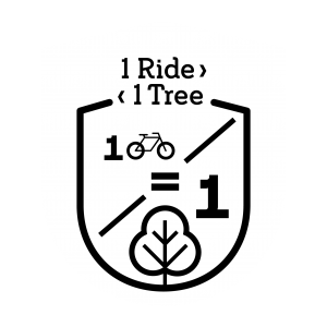 1 ride 1 tree pledge