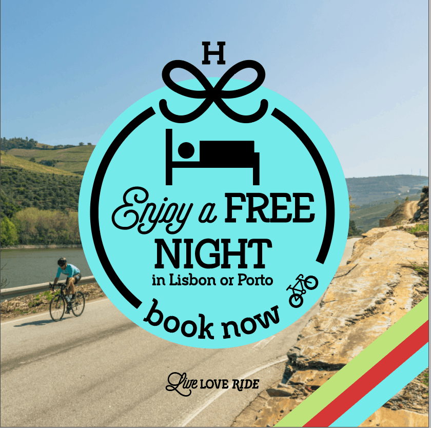 new bookings - free extra night in Porto or Lisbon