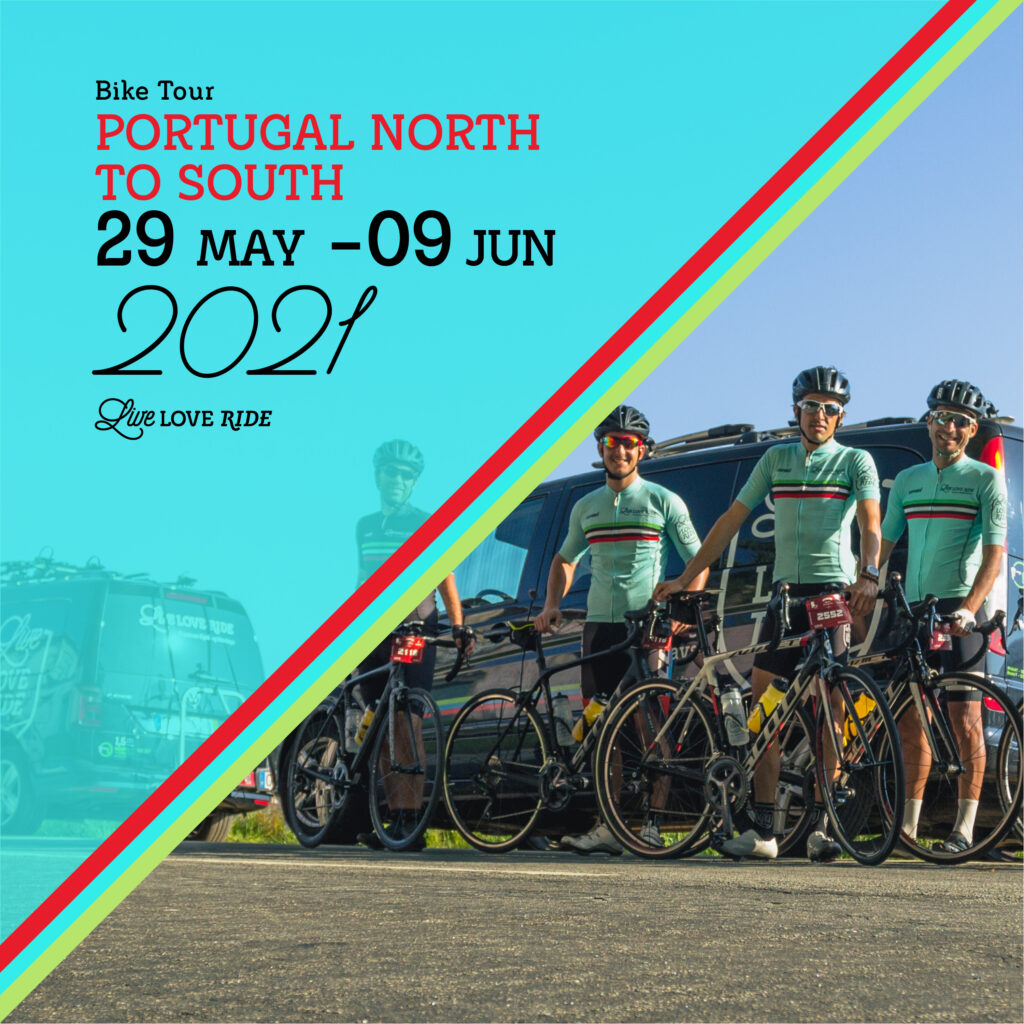 Bike tour across portugal - north to south