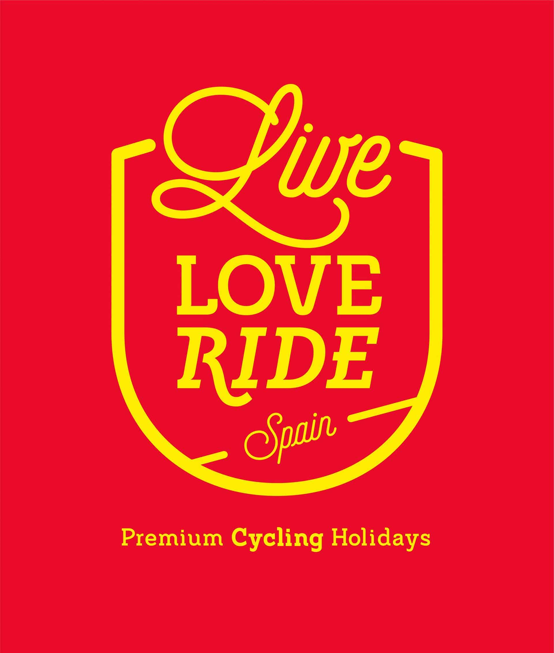 Live Love Ride - Bike Tours Spain Red yellow ID