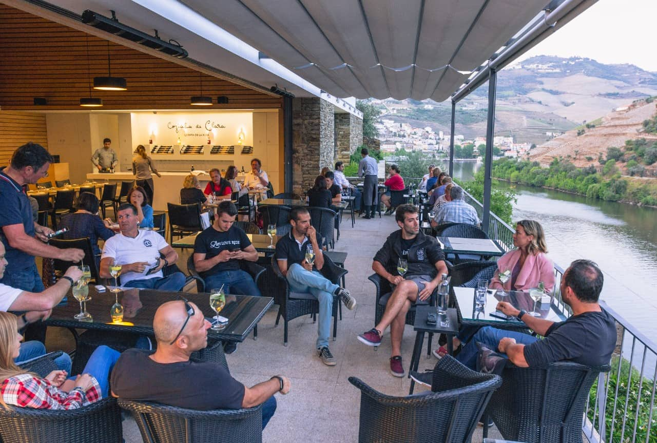 portugal bike tours guided river douro group relax views
