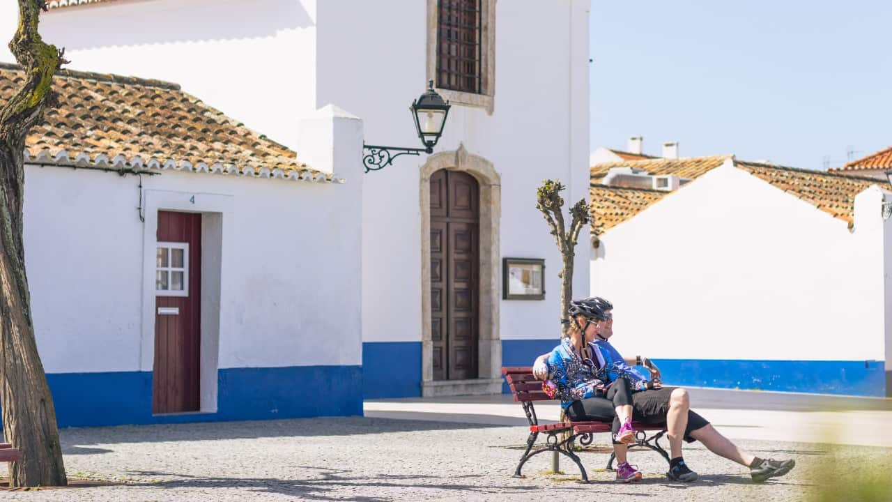 portugal bike tours self guided couple